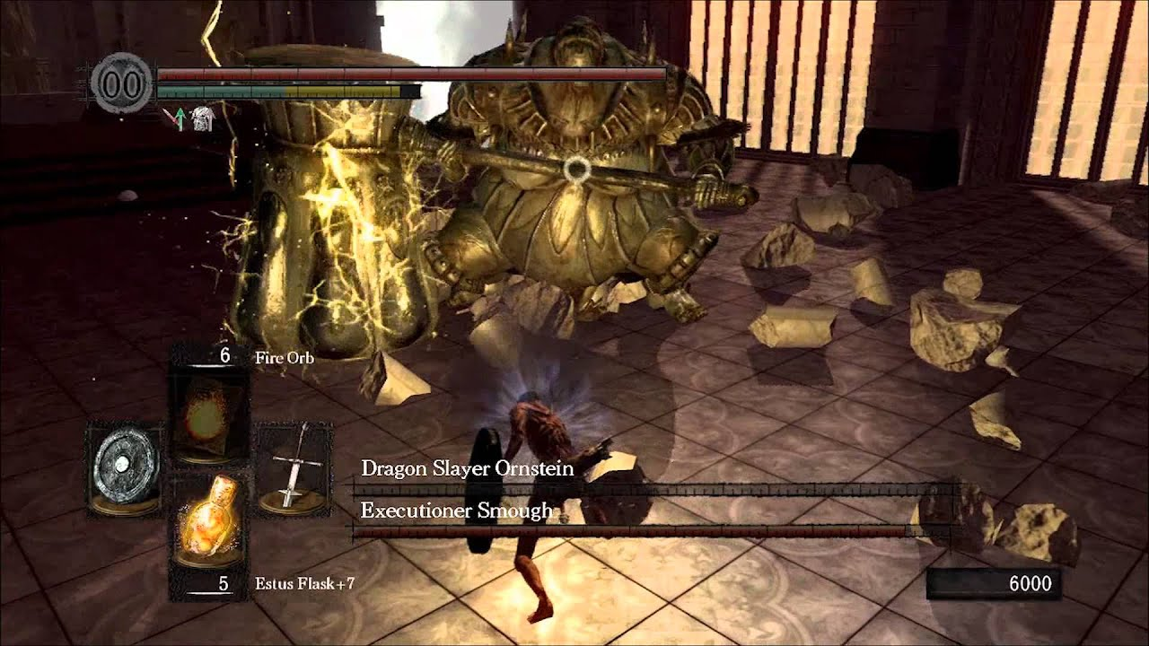 how to get to ornstein and smough boss
