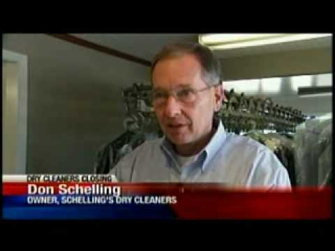Schelling shutting down dry cleaning business