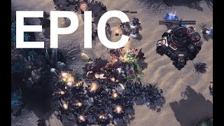 EPIC - Reynor (Z) v SpeCial (T) on Blueshift  - StarCraft2 - Legacy of the Void 2018