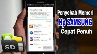5 Penyebab Memori Hp Samsung Cepat Penuh