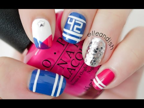 Sporty School Spirit Nails!