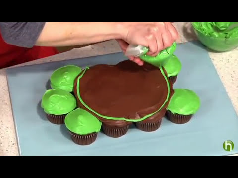 Pin Turtle Cake How To Make Pull Apart Cupcakes Cake on Pinterest