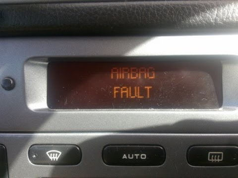 Peugeot 406 Airbag Fault Fix YouTube
