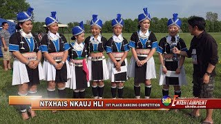 SUAB HMONG ENTERTAINMENT:  Ntxhais Nkauj Hli won 1st place in Dancing Competition at 2018 HNMF