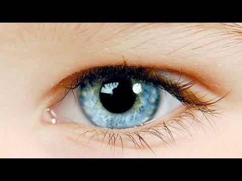 Из карих глаз как сделать голубые глаза