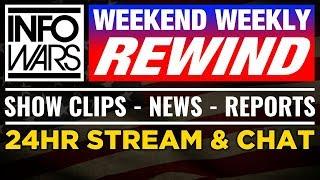 LIVE NEWS TODAY 📢 Alex Jones Show Commercial Free ► Friday 8/18/17 ► Infowars Stream