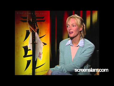 ScreenSlam -- KILL BILL: Interview with Uma Thurman.
