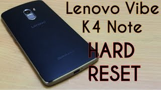 Lenovo K4 Note Hard Reset