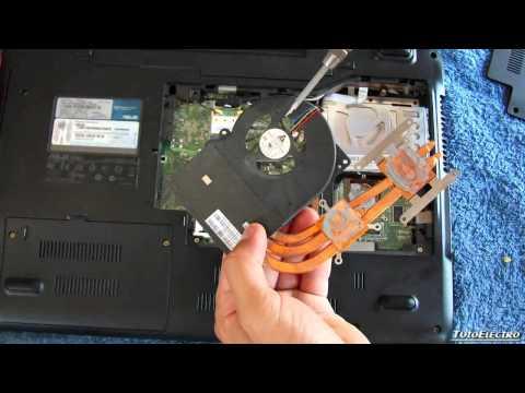 Como solucionar el calentamiento de un PC portátil