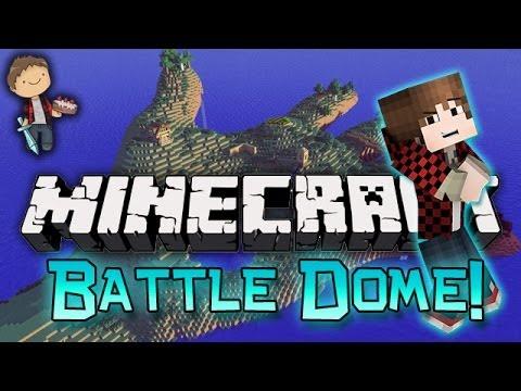 Minecraft battle dome w mitch friends part 2 fish for Battle fish 2