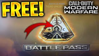 COD Modern Warfare Free Season 1 Battle Pass ✅ How to Get MW Battle Pass for FREE [XBOX,PS4,PC]
