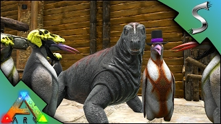 MOSCHOPS BABY! PENGUIN FARMING! DOUBLE COLOUR MUTATED BARYONYX - Ark: Survival Evolved [S3E54]