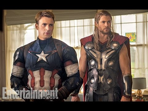 AMC Movie Talk - First official AVENGERS 2 Pictures!