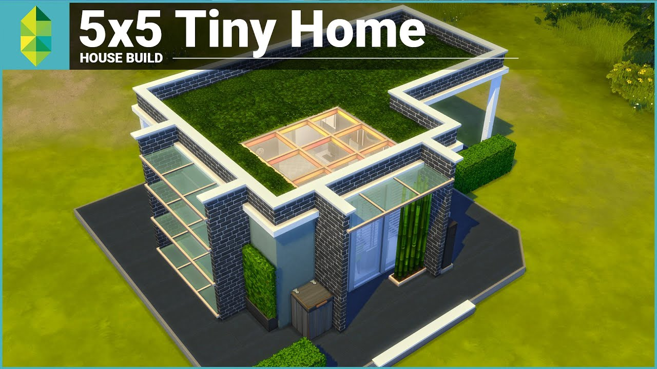 The Sims 4 House Building - 5x5 Tiny Home