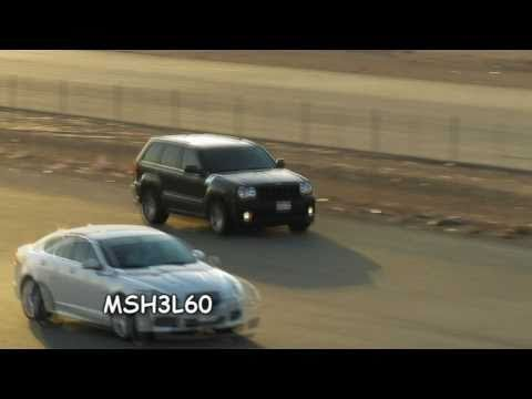 XFR Jaguar vs Jeep SRT8