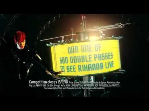 Download Comercial da Optus com Rihanna
