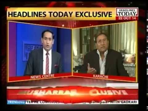 Centre Stage: Interview with Pervez Musharraf (Part 1)