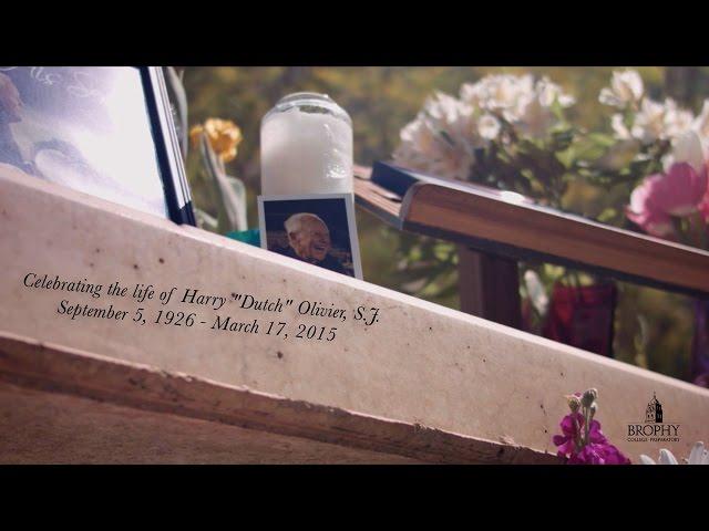 "Celebrating the life of Harry ""Dutch"" Olivier, S.J."