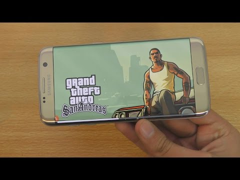GTA San Andreas Samsung Galaxy S7 Edge Gaming Test (4K)