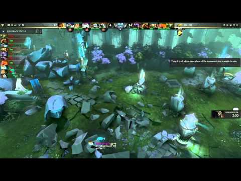 Na'Vi vs Kaipi GRAND FINAL Game 4 part 2   The Defense DOTA 2 Playoffs   TobiWan & syndereN