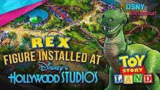 REX Installed in TOY STORY LAND at Walt Disney World - Disney News - 11/9/17