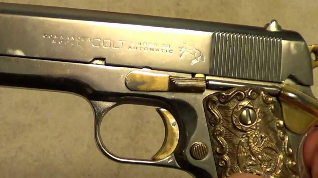 Similiar Gold 38 Keywords Diagram Colt 1911 Cup Lzk Gallery Light Weight Commander In Nickel Super