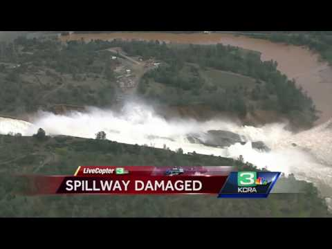 VIDEO: Livecopter 3 gives an aerial tour of the Oroville Dam