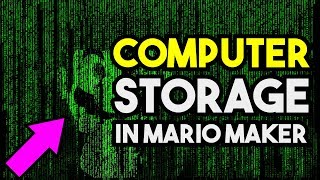 Is it Possible to Build Binary Storage in Super Mario Maker ?