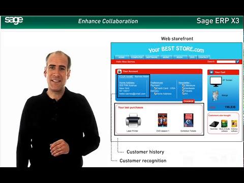 Sage ERP X3 Demo