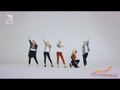 Red Velvet - Ice Cream Cake Dance Compilation ( Mirrored ) [2nd Ver]