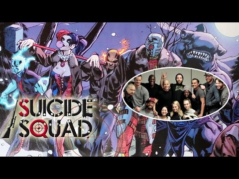 Suicide Squad Cast Photo Reveals New Characters