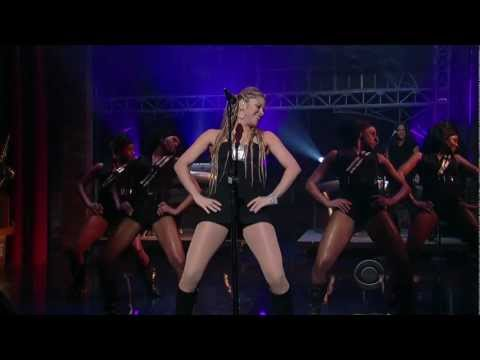 Shakira -  Give It Up To Me Live Performance On Late Show Hd (720p) video