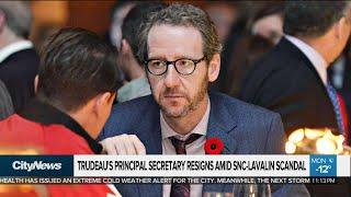 Trudeau's principal secretary resigns