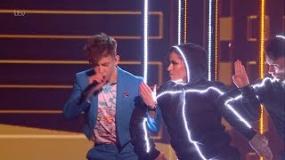 The X Factor Celebrity UK 2019 Live Week 3 Kevin McHale Full Clip S16E05