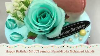Birthday wishes to JCI Malaysia National President Nurul-Huda