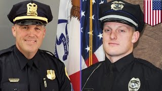 Des Moines police shooting: 2 Iowa cops allegedly shot to death by Scott Greene - TomoNews