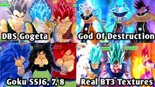 NEW DBZ TTT MOD Full Real BT3 ISO With New Dbs Gogeta, Dbs Broly MUI And Kanba DOWNLOAD