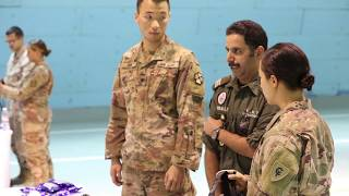 American, Canadian, British, and Kuwaiti Forces Participate in Joint Medical Training