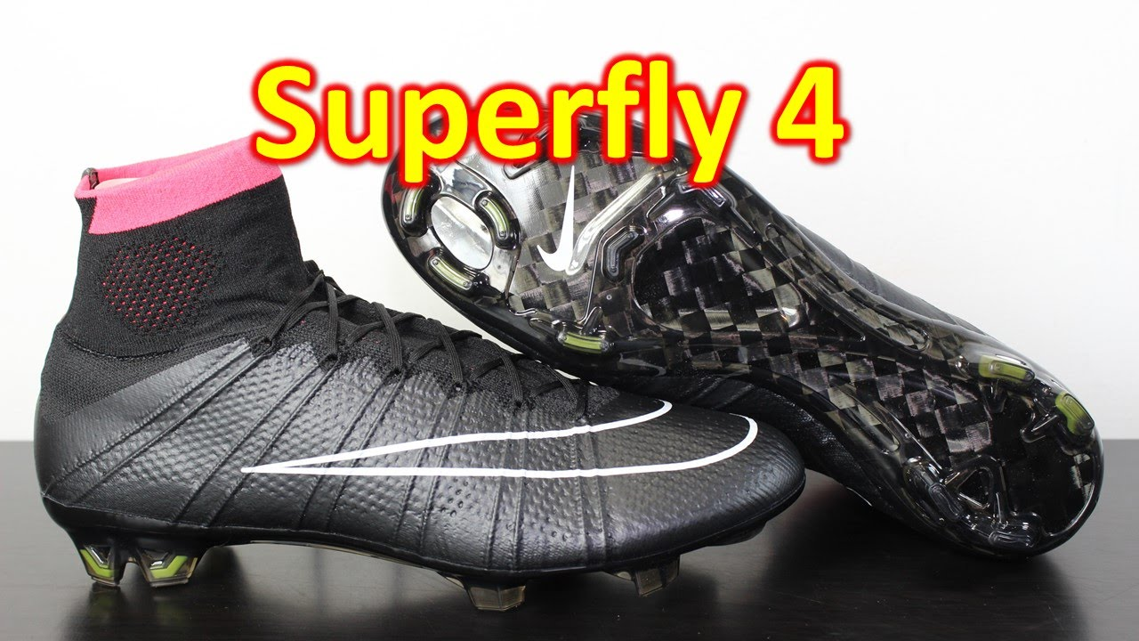 Nike Mercurial Superfly 4 Stealth Pack Black/Hyper Punch ...