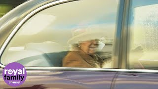Queen Arrives at Sandringham Ahead of Talks with Duke and Duchess of Sussex