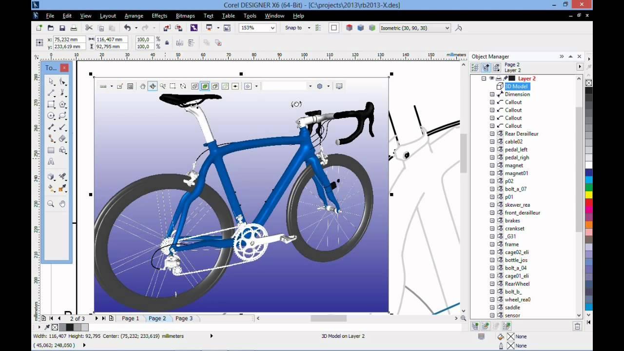 Inserting 3d Models In Corel Designer X6 Youtube