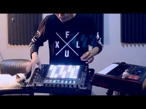 The Box (Orbital) - Wiwied performance with Push 2, Ableton Live & Impulse