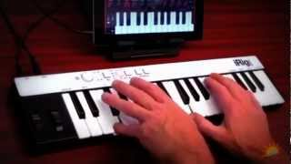 iRig KEYS - portable keyboard for iPad - Music3.4.5