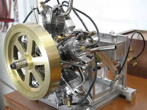 5 CYL RADIAL AIRCRAFT ENGINE
