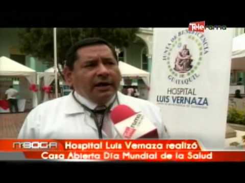 Hospital Luis Vernaza realizó Casa Abierta Día Mundial de la Salud