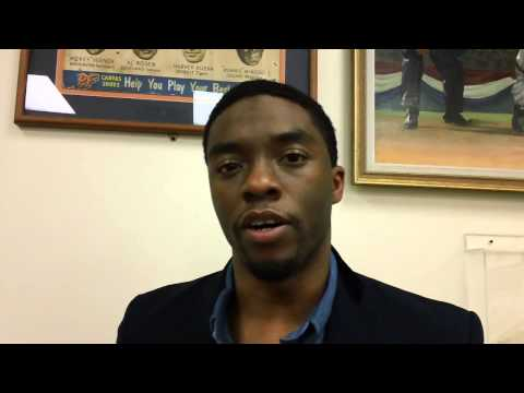 "The power of ""42"": Chadwick Boseman on becoming Jackie Robinson"