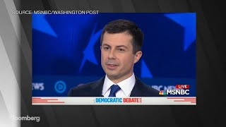 Buttigieg and Gabbard Clash Over Leadership Experience