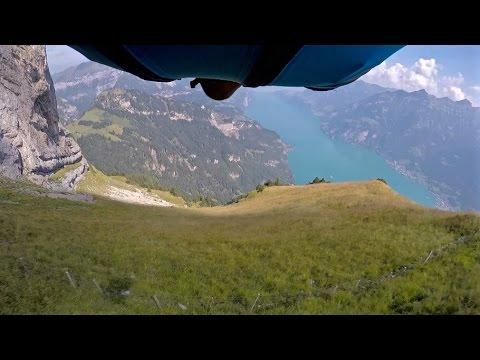 Wingsuit Jumping Gitschen