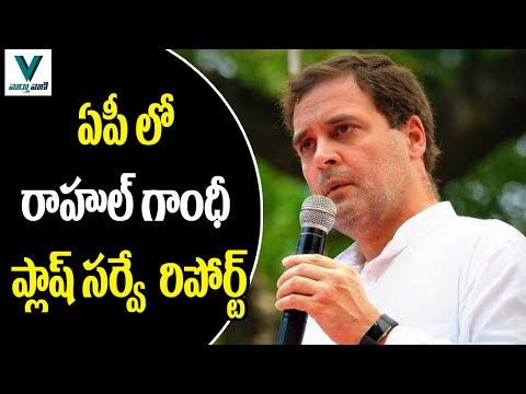 Rahul Gandhi Flash Survey in Andhra Pradesh - Vaartha Vaani