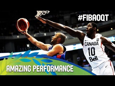 Tony Parker's amazing performance against Canada